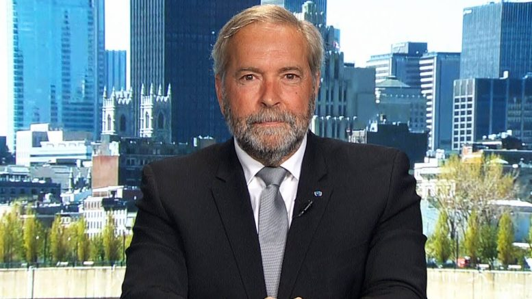 Mulcair on SNC-Lavalin scandal: 'This is banana republic behaviour' 1