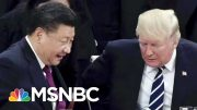 Markets Open Sharply Lower After Recession Warning | Velshi & Ruhle | MSNBC 4