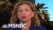 Full Wasserman Schultz: GOP Is Cowering In The Corner On Gun Bills | MTP Daily | MSNBC 4