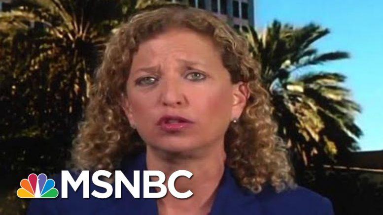 Full Wasserman Schultz: GOP Is Cowering In The Corner On Gun Bills   MTP Daily   MSNBC 1