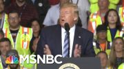 Donald Trump Battles Self-Made Crises As Markets Tumble | The Beat With Ari Melber | MSNBC 5