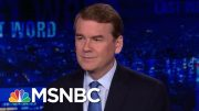 Michael Bennet On Breaking News That Hickenlooper Will End Presidential Bid | The Last Word | MSNBC 4