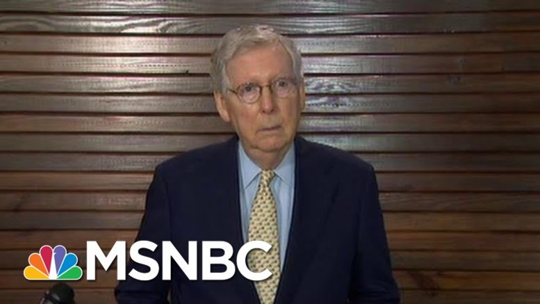 Mitch McConnell At Nexus Of Increased Russian Leverage On U.S. | Rachel Maddow | MSNBC 1
