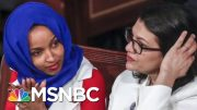 Israel To Block Visit By Reps. Ilhan Omar And Rashida Tlaib After Trump Tweet | Craig Melvin | MSNBC 3