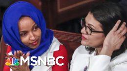 Israel To Block Visit By Reps. Ilhan Omar And Rashida Tlaib After Trump Tweet | Craig Melvin | MSNBC 3