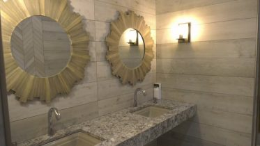 """An Alberta gas station could be crowned """"Best Bathroom in Canada"""" 6"""
