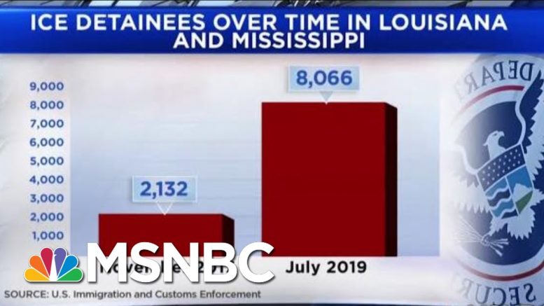 New Frontline In Immigration Battle As Thousands Detained In LA And MS | Andrea Mitchell | MSNBC 1