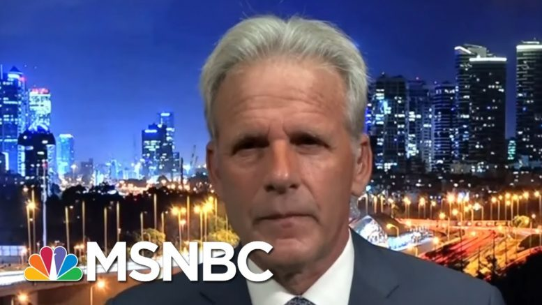 Michael Oren: 'Israel Has To Tread Very, Very Lightly' | MTP Daily | MSNBC 1