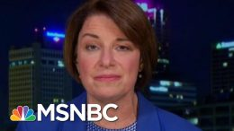 Amy Klobuchar On Congresswomen Banned From Israel | The Last Word | MSNBC 2