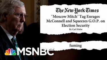 'Moscow Mitch' McConnell 'Fuming' With Trolling | The Beat With Ari Melber | MSNBC 10