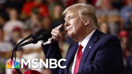 President Donald Trump Warns Crowd 'No Choice But To Vote For Me' At Rally | Velshi & Ruhle | MSNBC 3
