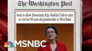 The Politics Of Israel's Travel Ban | Morning Joe | MSNBC 5