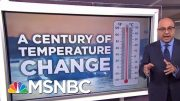 Record Summer Temperatures Raise Climate Change Fears | Velshi & Ruhle | MSNBC 3