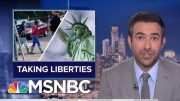 President Donald Trump Sued For Targeting Legal Immigrants | The Beat With Ari Melber | MSNBC 5