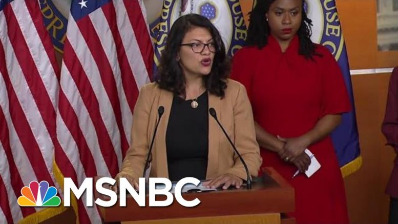 Representative Rashida Tlaib: Israel Is Trying To Silence Me   All In   MSNBC 1