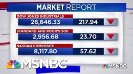 Dow Drops As Trump Announces New Tariffs On China | Katy Tur | MSNBC 2