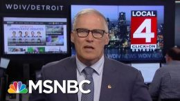 Governor Jay Inslee: Trump Is 'Horrifically Out Of Touch' With Americans | Velshi & Ruhle | MSNBC 3