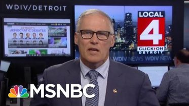Governor Jay Inslee: Trump Is 'Horrifically Out Of Touch' With Americans | Velshi & Ruhle | MSNBC 6