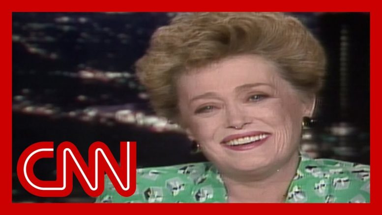 Rue McClanahan: We have so much fun on 'The Golden Girls' (1988) 1
