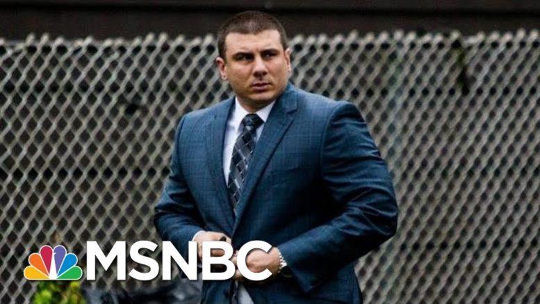 Daniel Pantaleo, NYPD Cop In Eric Garner Case, Fired | MSNBC 1