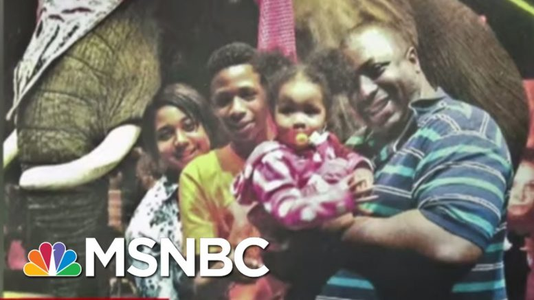 Eric Garner's Mother To NYPD Officer: You May Have Lost A Job, but I Lost My Son | Deadline | MSNBC 1