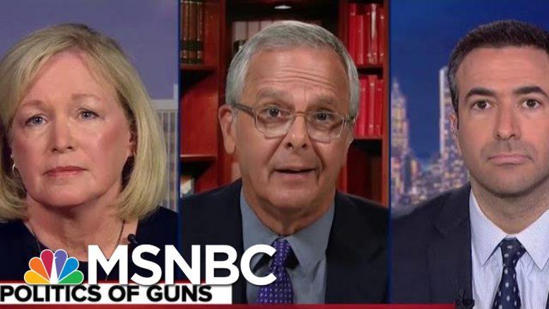 Watch Teacher Confront Republican Senator On Gun Control | The Beat With Ari Melber | MSNBC 1