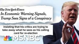 Trump Rattled: Staff, Fed Chair, Fox News Conspiring Against Me | The Beat With Ari Melber | MSNBC 5