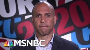 Cory Booker Responds To The Firing Of Officer In Eric Garner Case | The Last Word | MSNBC 4
