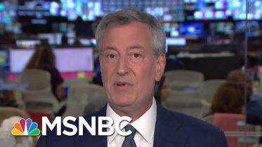De Blasio On Pantaleo Decision: Speaks To How Much Reform Has Happened | Andrea Mitchell | MSNBC 1