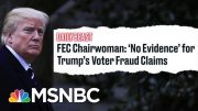 FEC Chairwomen Demolishes Trump's False 'Voter Fraud' Claim | The Beat With Ari Melber | MSNBC 5