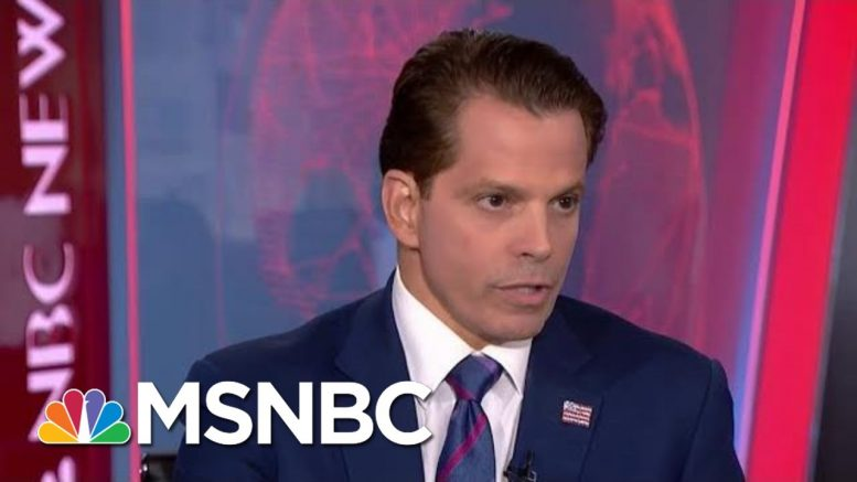 Scaramucci Urges GOP To 'Save The Country,' Speak Out Against Trump | Velshi & Ruhle | MSNBC 1