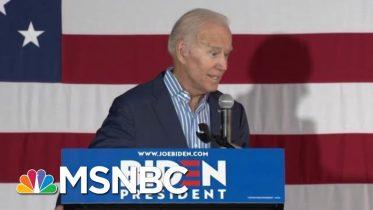 Democrats Coalescing Around One Goal: Beat President Donald Trump | Deadline | MSNBC 10