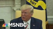 Trump Slams Jewish Voters Who Support Democrats As 'Disloyal' | Hardball | MSNBC 3