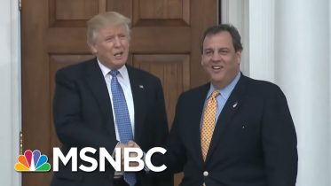 Christie Goes From 'Sit Down And Shut Up' To Civility Advocate | The Beat With Ari Melber | MSNBC 6