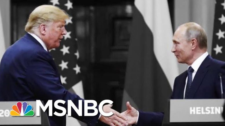 Figliuzzi: Once Again, We're Left Asking Why Trump's So Aligned With Putin | The 11th Hour | MSNBC 1