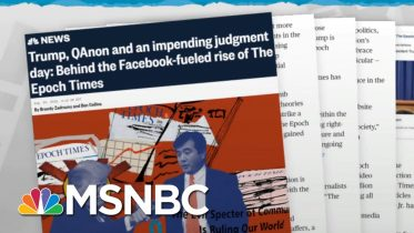 Pro-Trump Conspiracy Theories Pay Off For Anti-China Group | Rachel Maddow | MSNBC 2