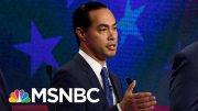 Who's In, Who's Out & Who's On The Bubble For The Next 2020 Debate. - The Day That Was | MSNBC 4
