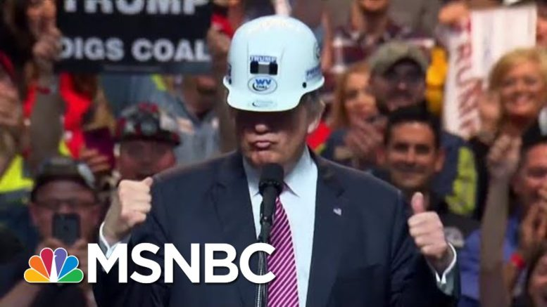Coal Miners Fight For Better Pensions Under President Donald Trump | Morning Joe | MSNBC 1