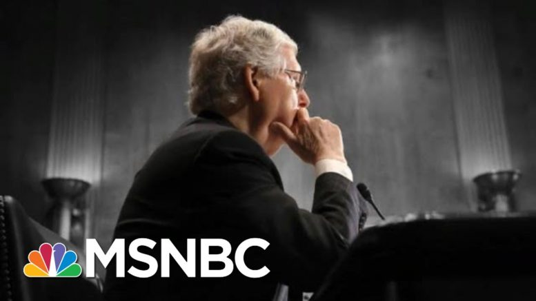 McConnell Takes 'Moscow Mitch' Nickname Home To Kentucky For August Recess | The 11th Hour | MSNBC 1