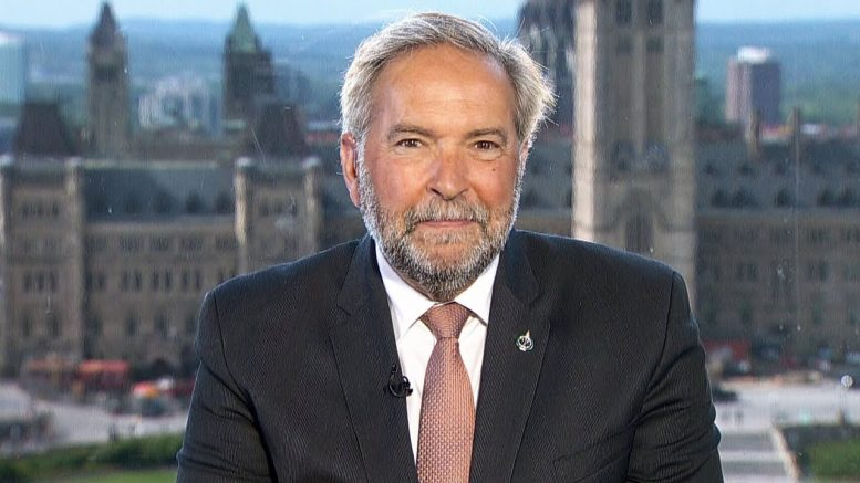 Tom Mulcair: An 'unseemly performance' by ethics committee 1