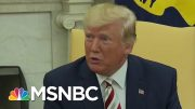 President Donald Trump Accuses Jewish Dem Voters Of 'Great Disloyalty' | Velshi & Ruhle | MSNBC 4