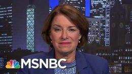 Sen. Klobuchar On Election Security Legislation, Taking On Trump At Debates | The Last Word | MSNBC 6