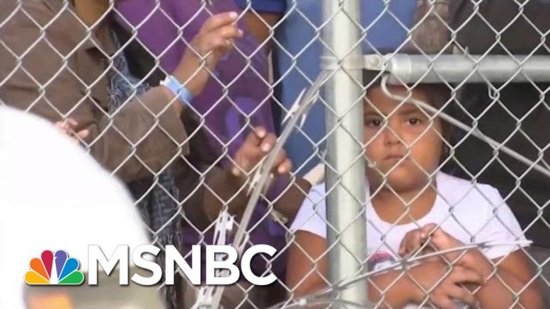 Trump Admin. To Lift Limit On How Long Migrant Families Can Be Detained | Velshi & Ruhle | MSNBC 1