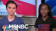March For Our Lives Co-Founders: Universal Background Checks Are Not Enough | Craig Melvin | MSNBC 3