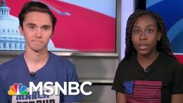 March For Our Lives Co-Founders: Universal Background Checks Are Not Enough | Craig Melvin | MSNBC 8