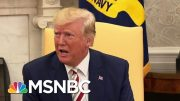 Trump Doubles His Controversial Message To Jewish Americans 'King Of The Jews' | Deadline | MSNBC 4