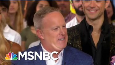 Define Star? ABC Hires Sean Spicer For 'Dancing With The Stars' | The Beat With Ari Melber | MSNBC 5