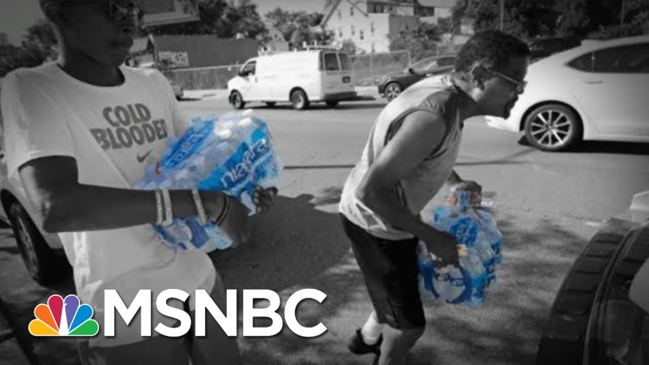 Newark Church Bishop Calls On NJ Governor To Do More About Water Crisis | The 11th Hour | MSNBC 2