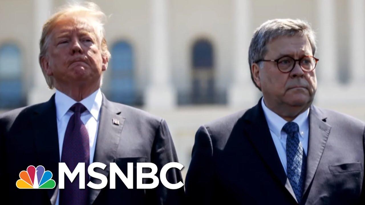 Manhattan D.A. Subpoenas Trump Org Beyond Barr's Protective Reach | Rachel Maddow | MSNBC 7