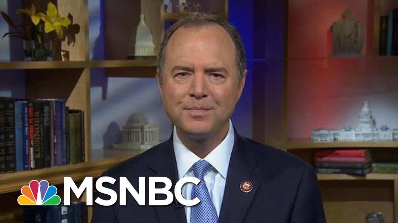 Representative Schiff Reacts To Trump's Jewish Loyalty Remarks | Morning Joe | MSNBC 1